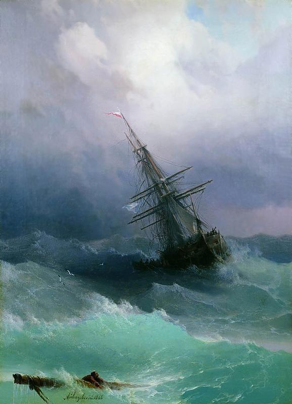 tempest-by-ivan-aivazovsky